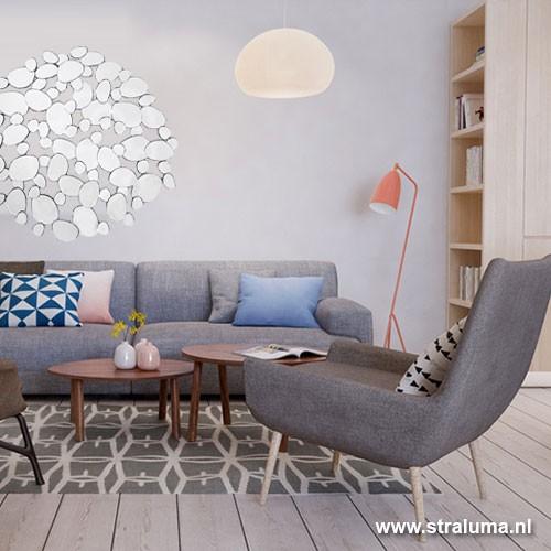Trendy spiegel druppels hal / woonkamer | Straluma
