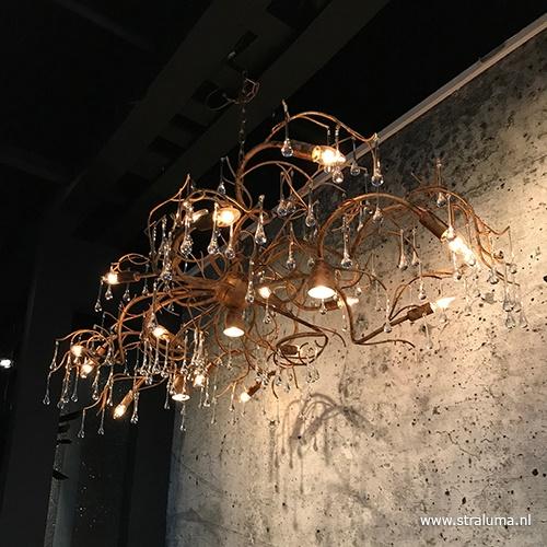 Hanglamp Como brons