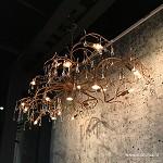 Klassieke design hanglamp Como brons