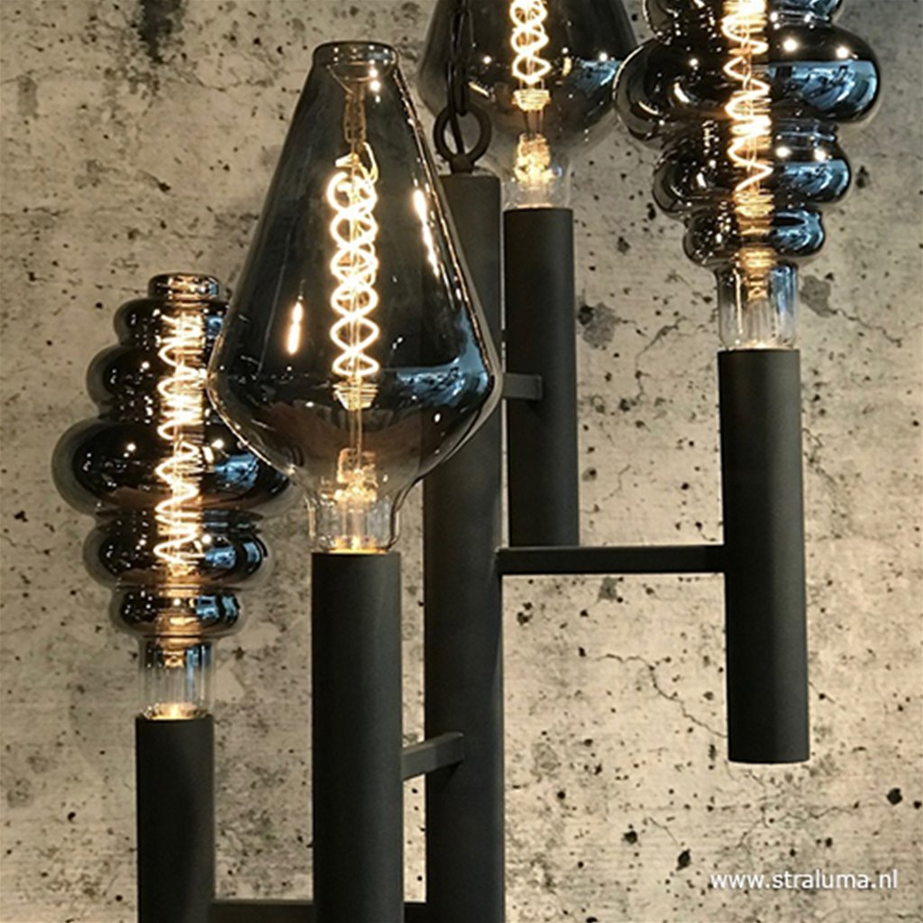 Moderne hanglamp industrial dark vide