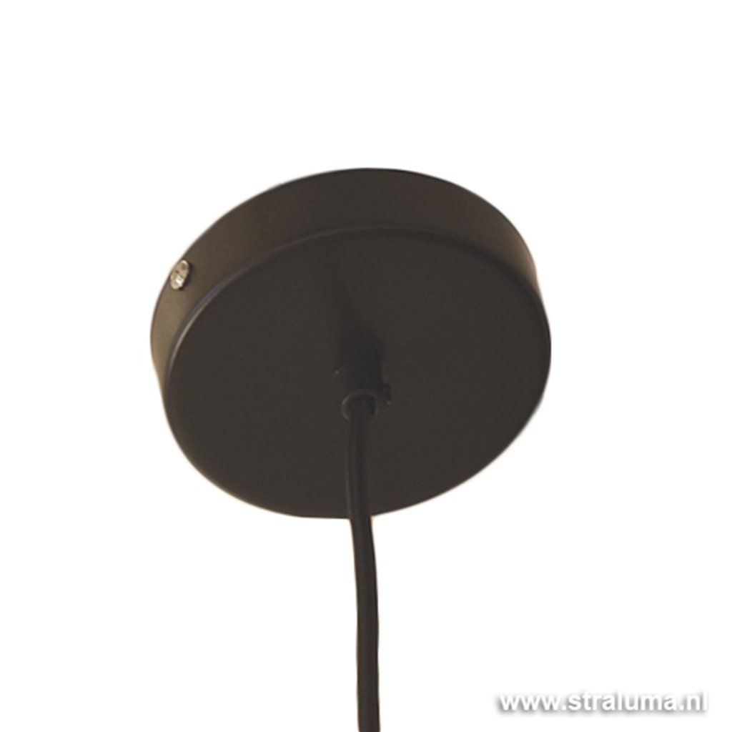 Industriele hanglamp constructie wit