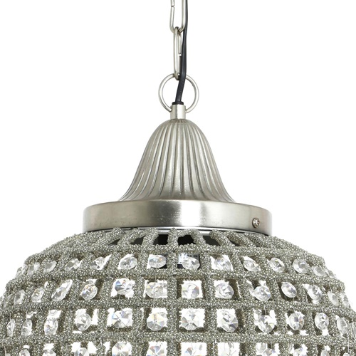 Romantische hanglamp Charlene kristal