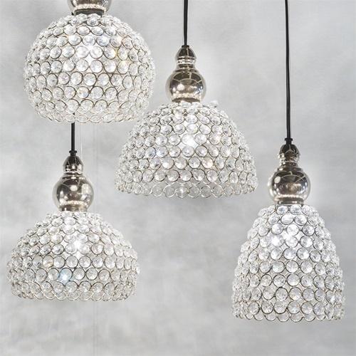 Light & Living hanglamp Elene kristal
