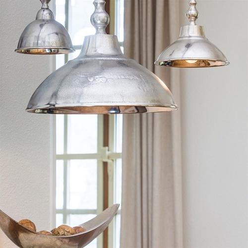 Light & Living hanglamp Amelia zilver