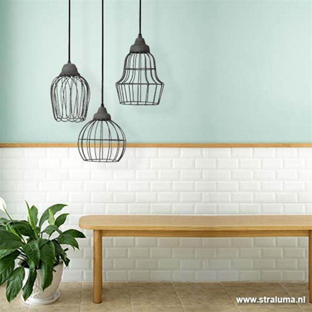 Light & Living hanglamp Birke beton