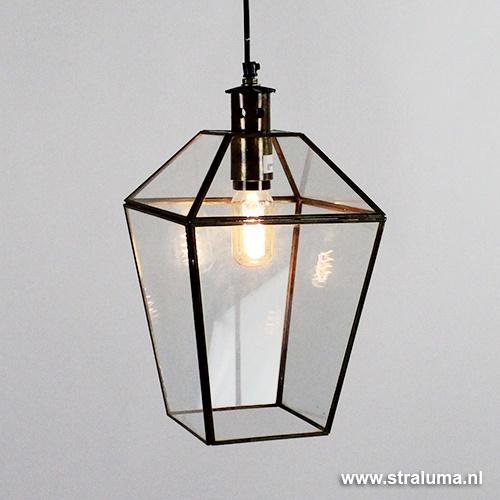 Hanglamp lantaarn brons Sonderholm