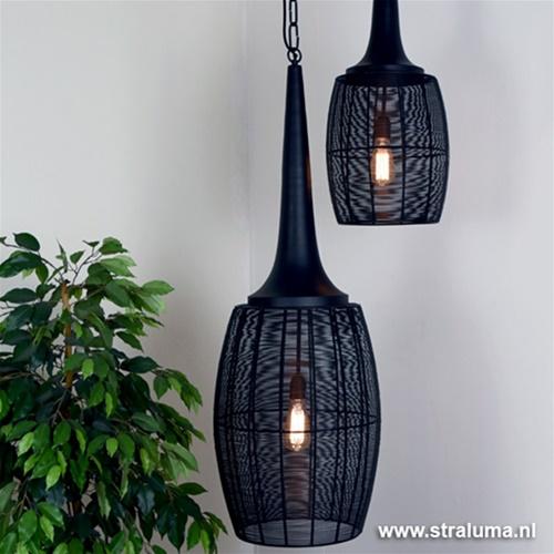 Light & Living hanglamp Ardelle zwart