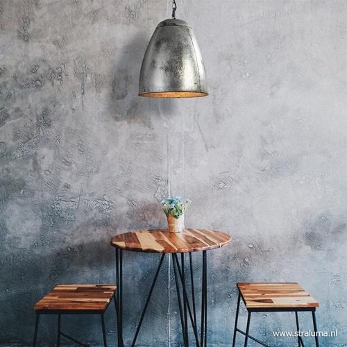 Stoere industriële hanglamp vintage