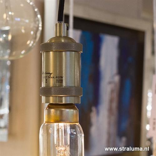 Pendel los antiek brons Light & Living