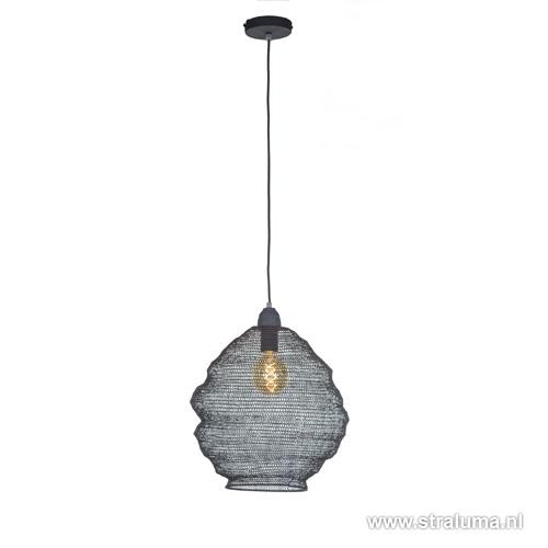 Hanglamp gaas klein grijs