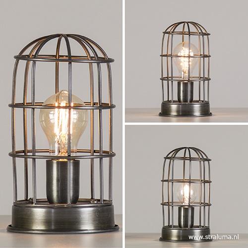 Light & Living tafellamp Carandira kooi