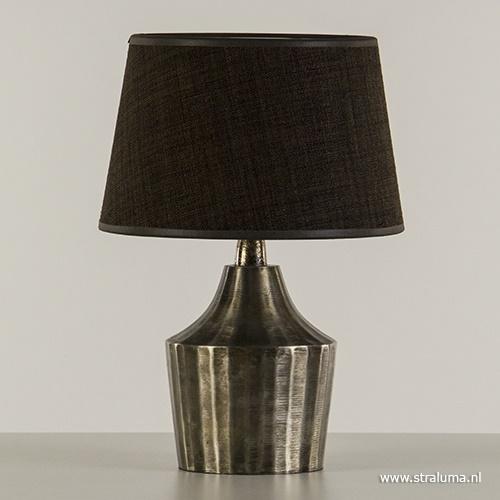 Tafellamp Kirsty pearl black excl. kap