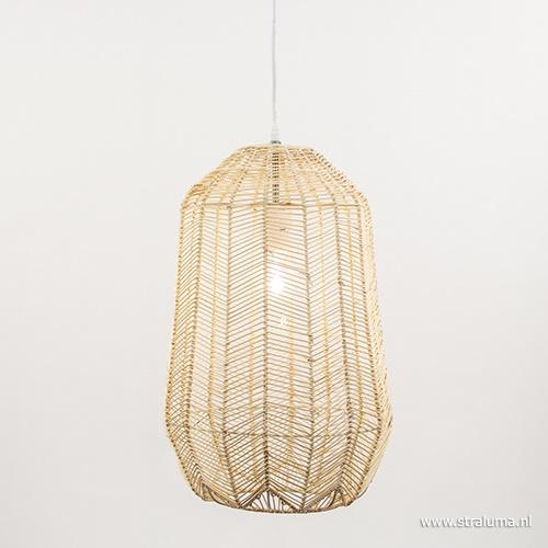 Sfeervolle hanglamp hout Light Living