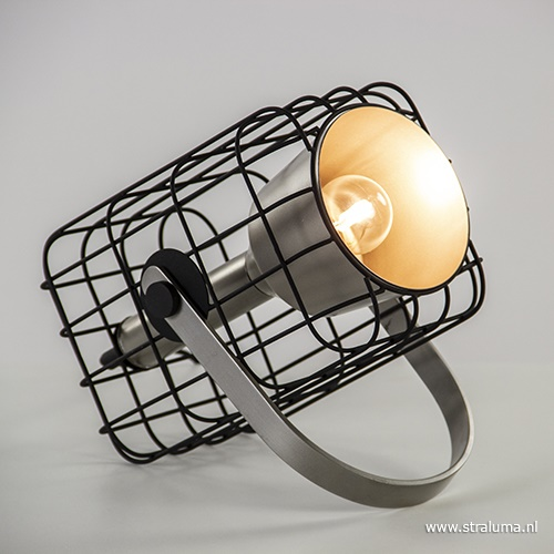 Light & Living kooi tafellamp spot