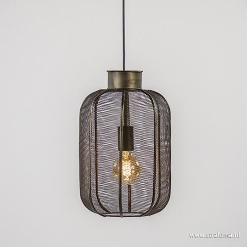 Light Living hanglamp Kimora brons/gaas