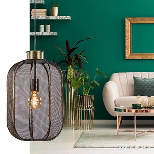 Metalen hanglamp Kimora Light & Living