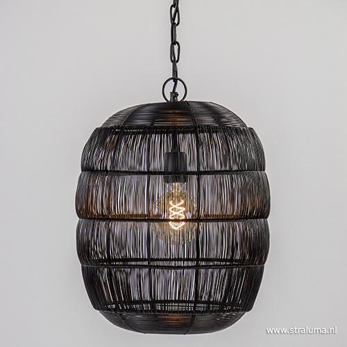 Light Living draad hanglamp Carla zwart