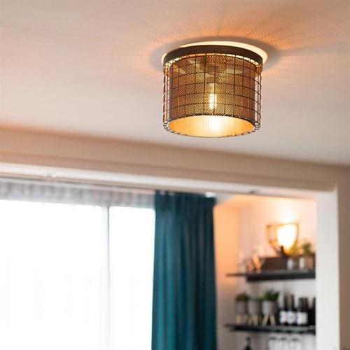 Light & Living plafonnière Digo zink