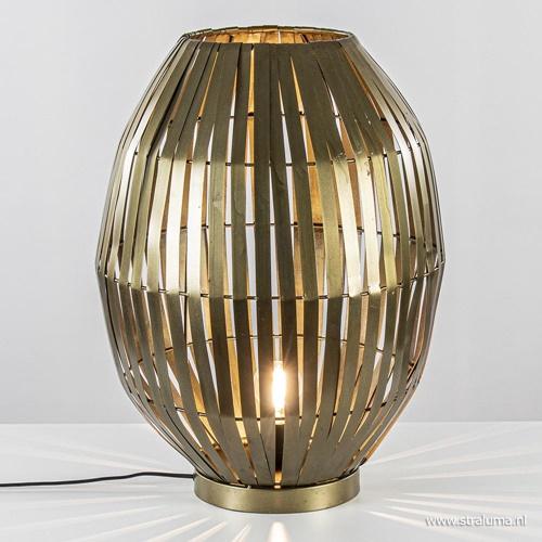 Light & Living tafellamp Kyomi antiek brons groot