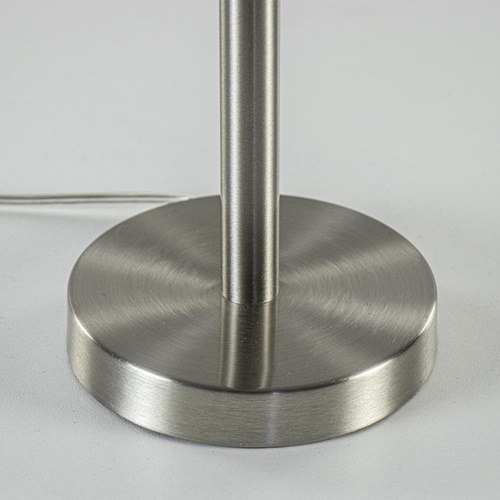 Moderne lampvoet Washington nikkel excl. kap
