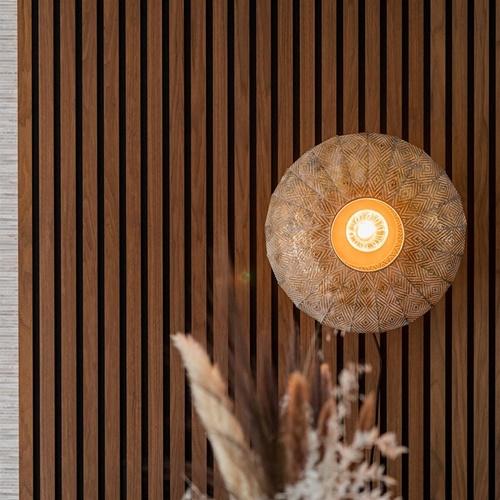 Plafond/wandlamp Lavello antiek goud