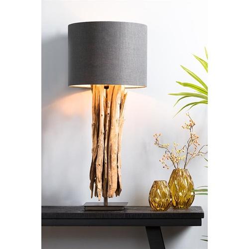 Light & Living lampvoet Wary naturel hout