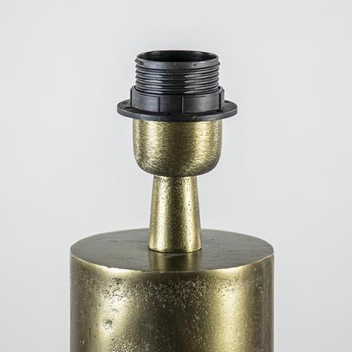 Ruw antiek bronzen lampvoet Savi exclusief kap