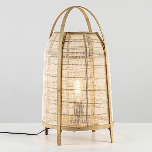 Light and Living tafellamp Jacinto naturel 60 cm