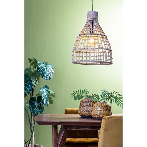 Grote hanglamp Puerto rotan naturel Light and Light
