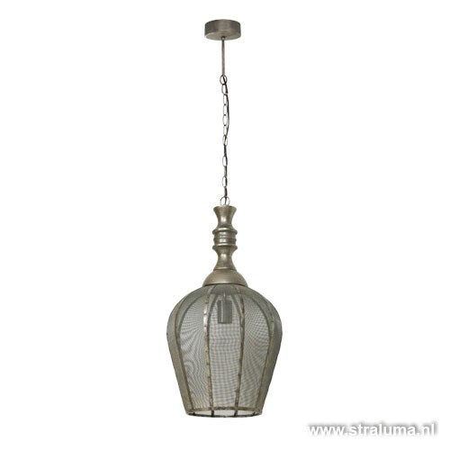 Hanglamp Sigrid oosters gaas woonkamer | Straluma