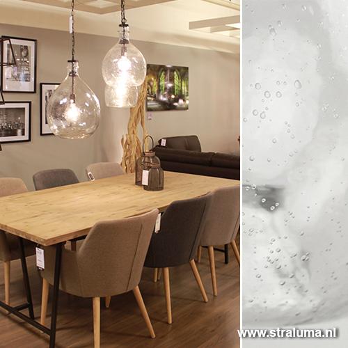 Extreem Glazen hanglamp Gabi keuken, hal, | Straluma @VS78