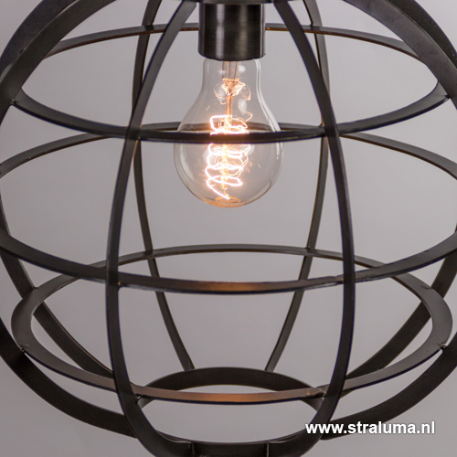 industriele hanglamp imaly woonkamer straluma
