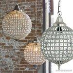 Light & Living hanglamp Cheyenne kristal
