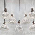 Light & Living hanglamp kristal Eva