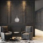 Light & Living hanglamp kristal Elmi