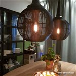 Light Living hanglamp Adrienne XL zwart