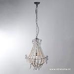 *Light & Living kralen hanglamp Lyna