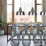 *Hanglamp Margo staal Light & Living