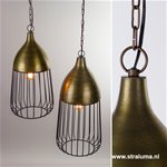 **Klassiek-landelijke hanglamp Udine
