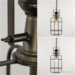 Landelijke kooi hanglamp Light & Living