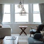 Grote glazen hanglamp-lantaarn L&L