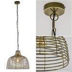 Light & Living hanglamp Joy antiek brons