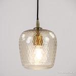 Light & Living hanglamp Danita glas