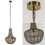Light & Living hanglamp Khedira Brons