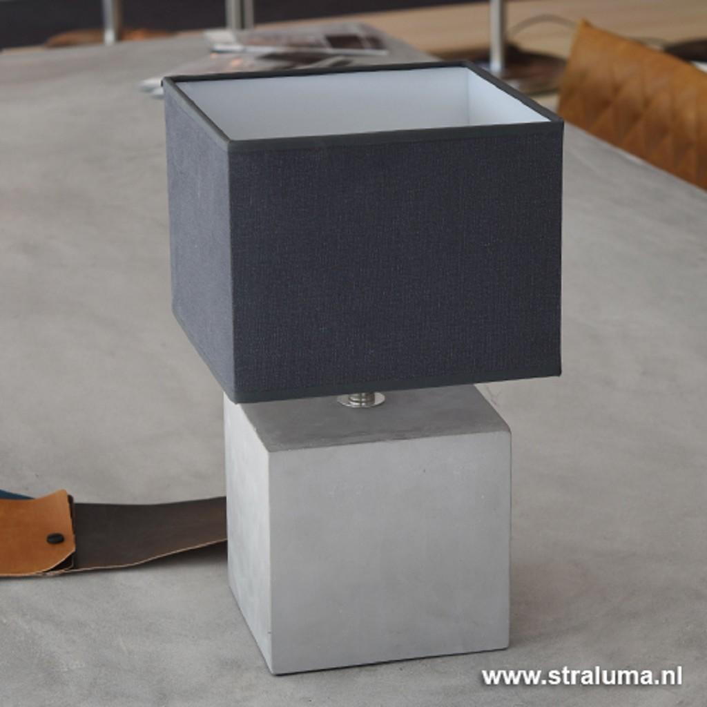 Lampenvoet Bonn beton grijs tafellamp