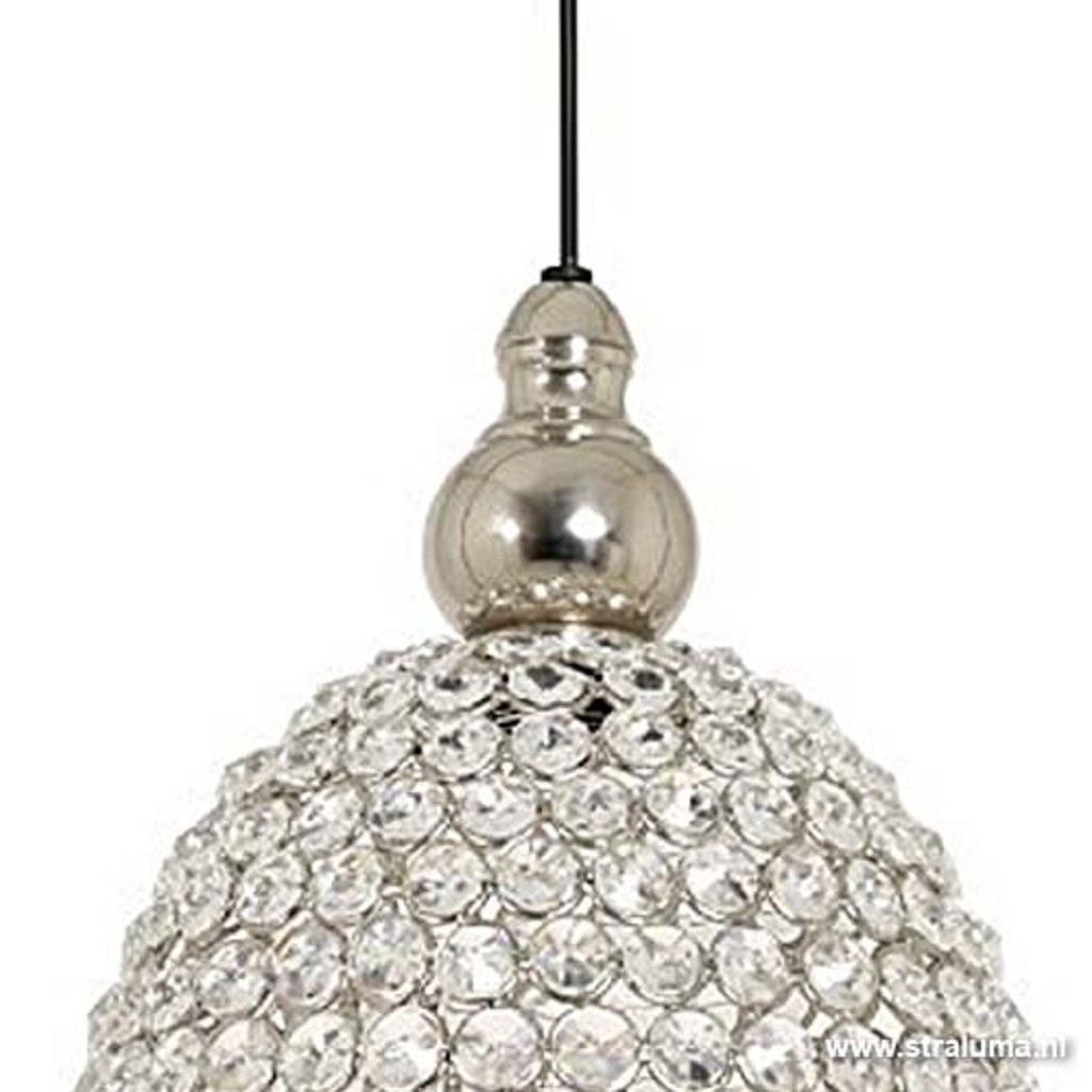 *Light & Living hanglamp kristal Elly