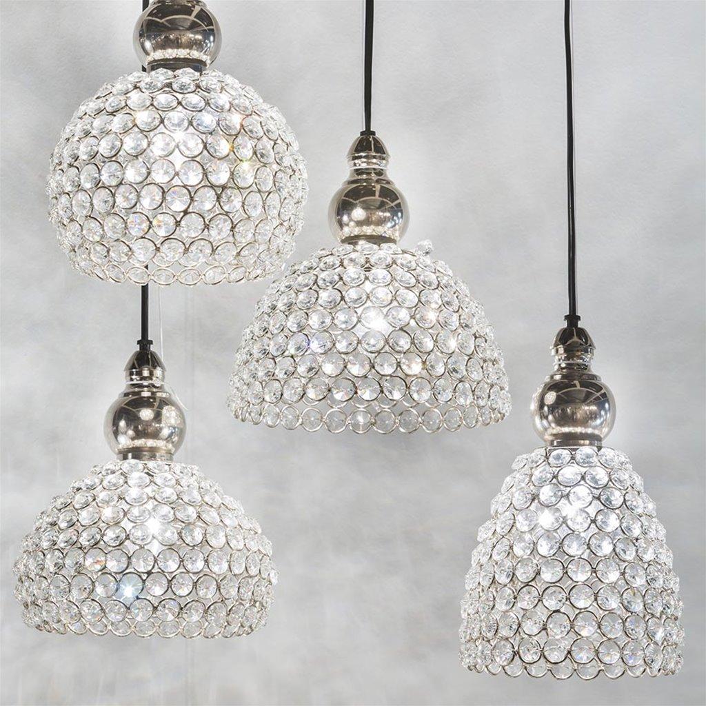 Light & Living hanglamp Eloise kristal