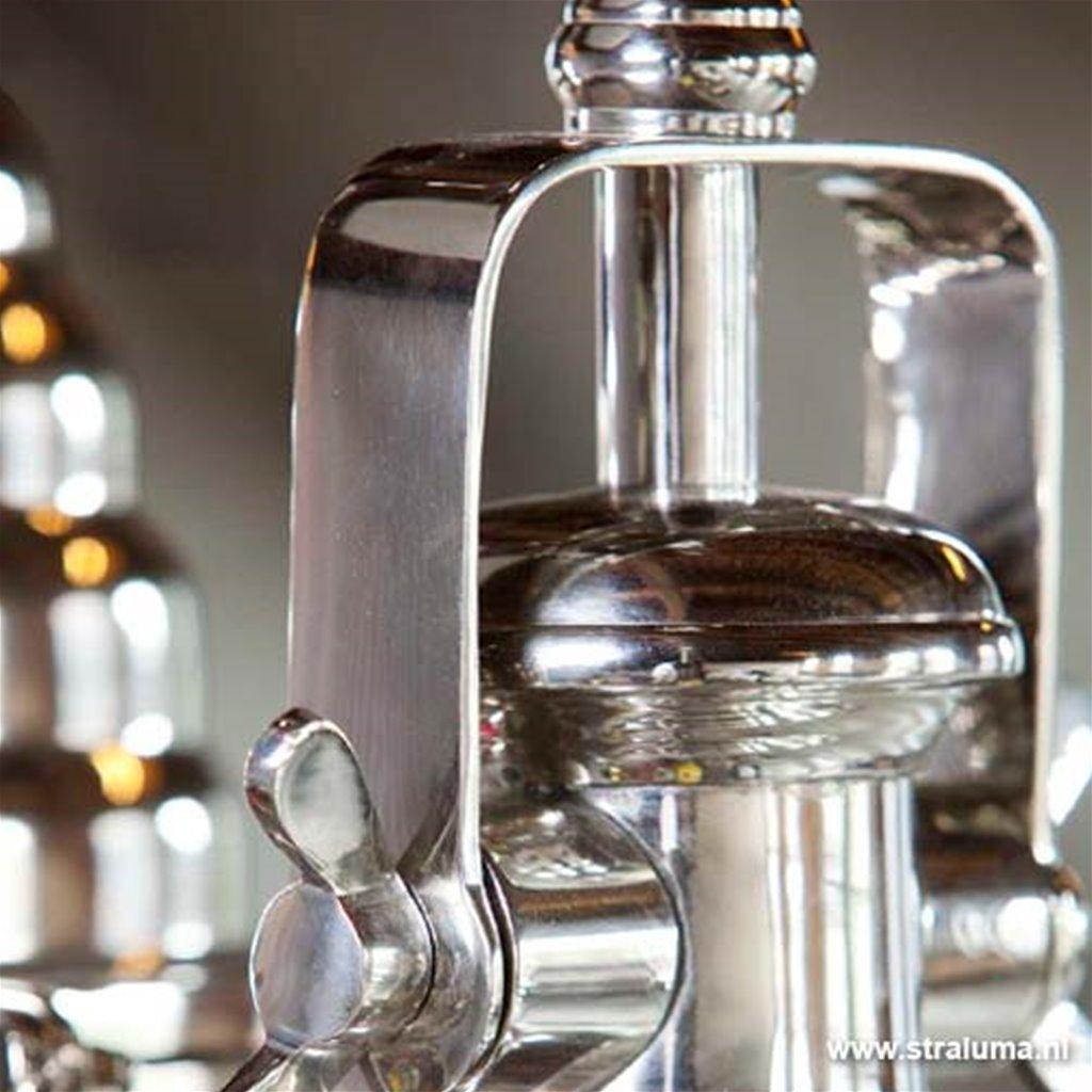 Light & Living hanglamp Nyborg zilver