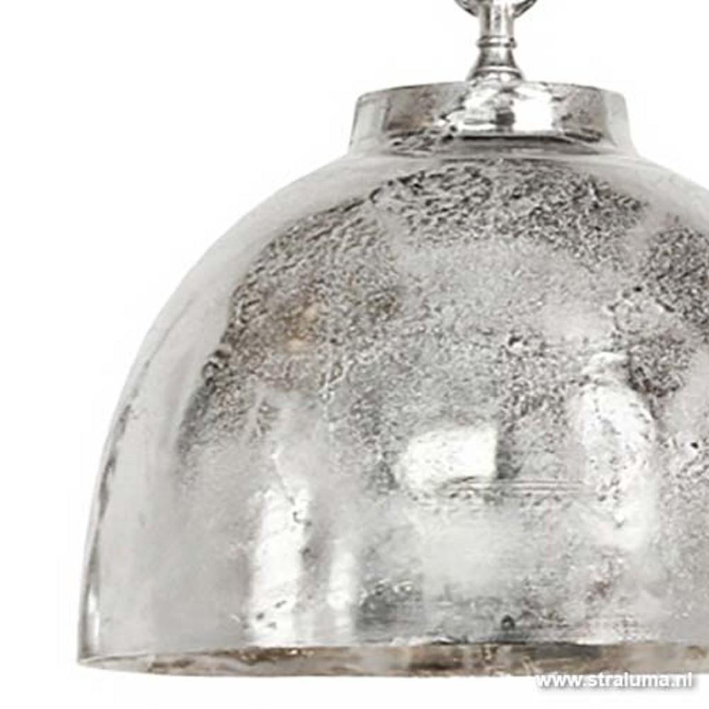 *Light & Living Hanglamp Kylie zilver