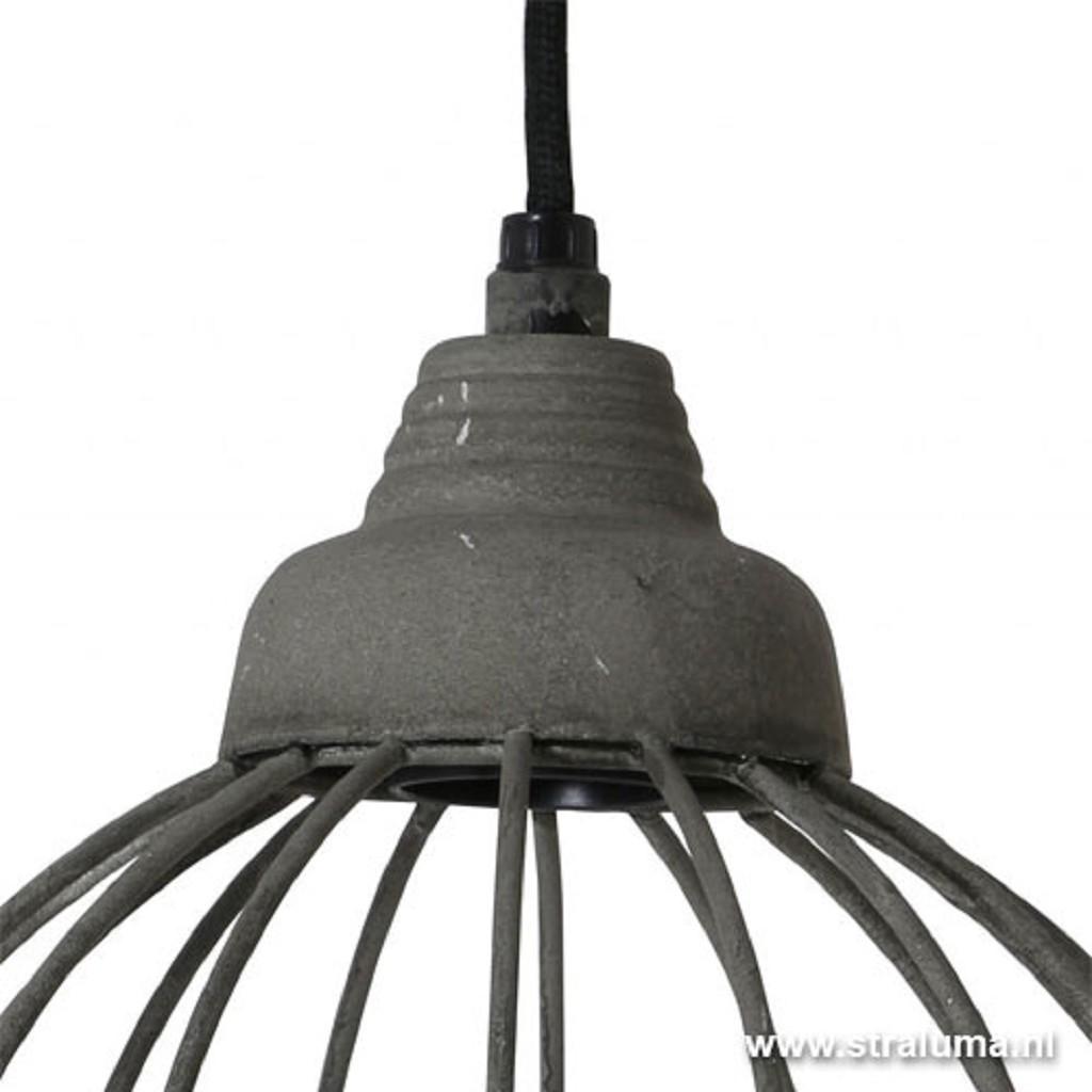 Light & Living hanglamp Benthe beton